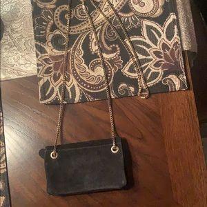 Free People Suede wallet purse